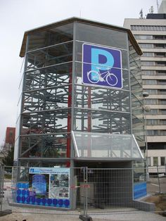 Fully-automated bicycle parking tower in Czech Republic. Click image for link to full profile and visit the slowottawa.ca boards >> http://www.pinterest.com/slowottawa/boards/