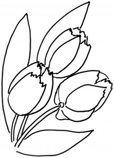 Tulips Flower Coloring Page From Tulip Category Select 30465 Printable Crafts Of Cartoons Nature Animals Bible And Many More