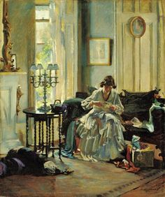 It's About Time: Interiors - Scottish painter Annie Rose Laing (née Low) 1869-1946