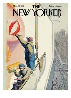 The New Yorker Cover - March 29, 1952 Regular Giclee Print by Arthur Getz at Art.com