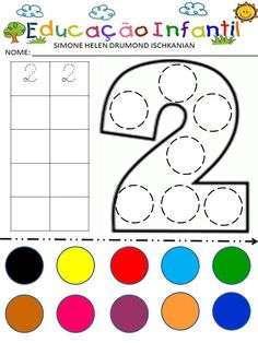 Simone Helen Drumond : PAREAMENTO DE CORES Math Activities, Toddler Activities, Preschool Activities, Block Play, English Letter, Busy Board, Foam Crafts, Adult Coloring Pages, Worksheets
