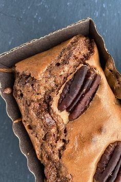 """Brownies with Shiny, Crackly Tops 