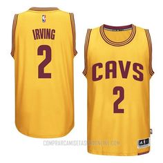 58b249121 Camiseta Autentico Los Angeles Clippers Irving Amarillo