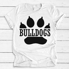 SVG Bulldog SvG. JPG included. Digitally downloadable file | Etsy