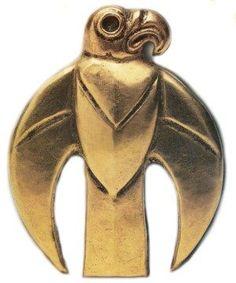 Scythian gold turul