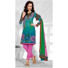 New Fashionable Stylist Embroidery Designer Salwar Suit - Online Shopping for Salwar Suit by Viva N Diva