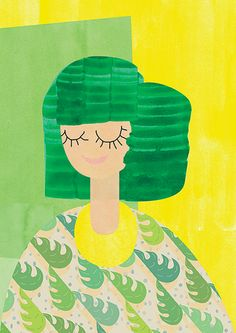 Laufakokteill Visualisation for pattern by Jóna Berglind Stefánsdóttir #illustration #pattern #colours #textiles