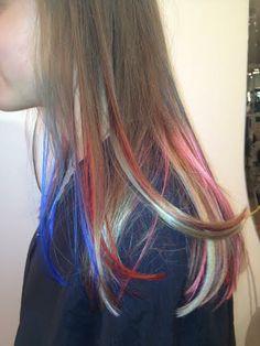 Rainbow Highlights #EnzoRiccobeneSalon #Highlights #Rainbow #Wellalife #Unique #Colors