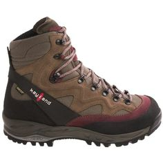 Kayland Contact Gore-Tex® Hiking Boots - Waterproof (For Women) in Wine/Havana