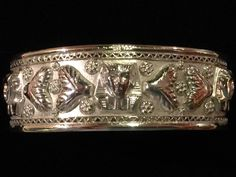A personal favorite from my Etsy shop https://www.etsy.com/listing/545144885/sterling-silver-egyptian-pharaoh-cuff
