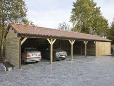 Ambo - Houtconstructies op maat - Ambo - Houten carports op maat