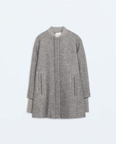 KNIT CAPE Zara