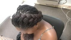 Braid hairstyle for work