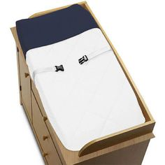 Changing Pads and Covers 66674: Sweet Jojo Designs Changing Table Pad Cover For White And Navy Hotel Baby Bedding -> BUY IT NOW ONLY: $30.99 on eBay!