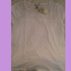 Lucky tshirt with open back Never worn/brand new with tag/ open back Lucky Brand Tops
