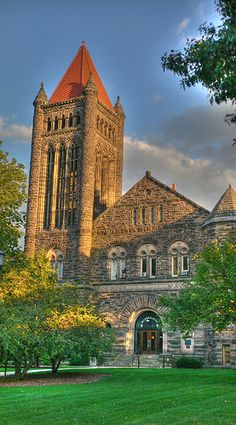Altgeld Hall  HDR Illinois by palacepier_tw, via Flickr