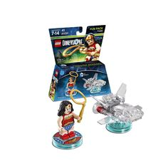 Lego DC Dimensions Fun Pack 71209 WONDER WOMAN toy tag base disc ONLY no figure!