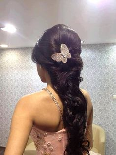 Cool Long Dark Brown Homecoming and Prom Hairstyle - Homecoming Hairstyles 2014