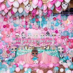 Uma festa de balões! !!. Versão linda by @osypovashow #festalolsurprise #lolsurprisefesta #lolsurprisepets