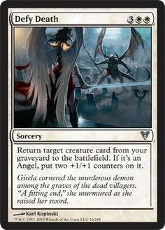 Magic: the Gathering - Defy Death (16) - Avacyn Restored by Wizards of the…