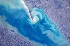 Lake Erie from space
