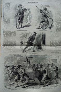 1865 Pompiers de Constantinople Turquie
