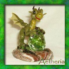 Kelen - Green Crystal Guardian by AetheriaBlue.deviantart.com on @deviantART