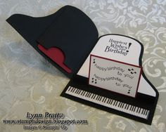 Stamp-n-Design Store: Piano Cards
