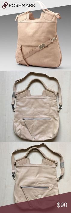 FOLEY + CORINNA Mid City Tote in NUDE Foley + Corinna Mid City Tote - 16h x 16w x 3d +  14in strap - well loved bag with minor signs of use which gives the bag character - multiple ways to wear - silver hardware Foley + Corinna Bags Totes
