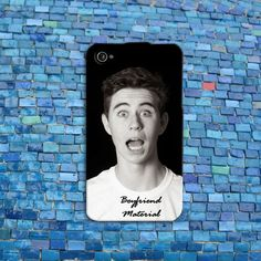 Cute Funny Nash Grier Boyfriend Material iPhone Case Cell Phone Cover