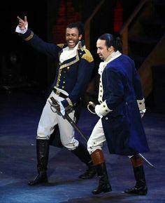 Monsieur Hamilton! Monsieur Lafayette!