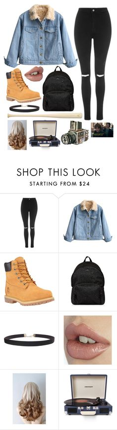 """""""Jonathan Byers"""" by willow-wonder ❤ liked on Polyvore featuring Topshop, Timberland, Hogan, EASTON, Humble Chic, Crosley Radio & Furniture and Sounds Like Home"""