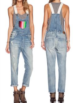 Effortless Everyday Style: Overalls.... Wildfox Couture