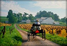 Ohio Amish Country, Holmes County where half the residents are Amish
