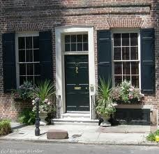 Charleston Green Door And Shutters House Siding Paint