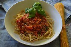 Thunfisch-Tomaten-Sauce gehört in meiner Familie mit zu den…