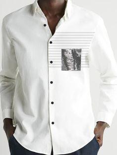 Plain White Shirt, White Shirts, Men Shirts, Casual Shirts, Fashion Styles, Men Fashion, Fashion Shirts, Fashion Outfits, Kids Outfits