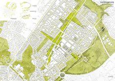 Schlaun / Aachen Nord / ein 1. Preis Städtebau: © Maurerlechner, Tröger, Hasenstab