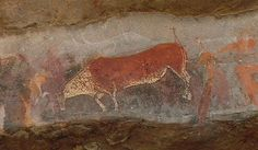 Rock paintings in South Africa tell us many stories about how art represented many things to prehistoric people. What signs will you leave behind for future ages?
