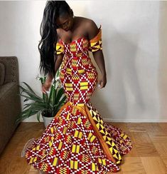 "The best ankara dress styles are absolutely top notch.African fashion with its ankara styles and lace styles popularly known as as ""asoebi"" are here to stay. African Fashion Designers, African Fashion Ankara, African Inspired Fashion, African Print Fashion, Africa Fashion, African Prints, African Fabric, African Prom Dresses, Ankara Dress Styles"