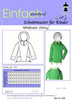 "Schnittmuster Windbreaker ""Chrissy"""