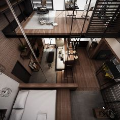 KOTAK Haus, The Compact Living Space (Concept)All done by Anwar Aljufrey.