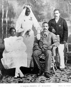 Australian South Sea Islander wedding in Bundaberg, Queensland, 1909