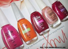 Five Maybelline Colorama nail Paints - www.maybelline.co.in/products/nails/nail_color/colorama.html