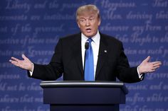 When he was talking about how much money he makes.   11 Times Trump Should Have Smiled More At The Debate