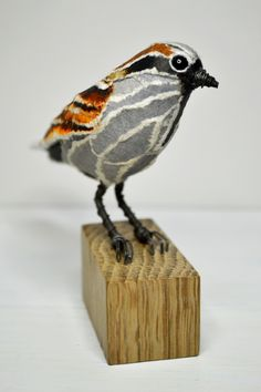 House Sparrow paper sculpture by Suzanne Breakwell www.suzannebreakwell.com