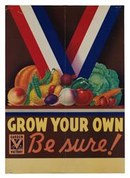 I love this kind of vintage ephemera. Wpa Posters, Poster Prints, Art Prints, Poster Poster, Food Posters, Dig For Victory, Flora, Propaganda Art, And So It Begins