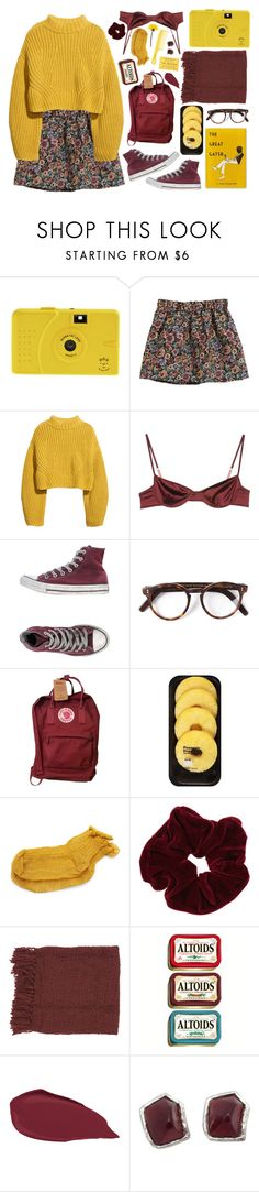 """the time for being sad is over"" by black-opal ❤ liked on Polyvore featuring H&M, Marni, Converse, Cutler and Gross, Fjällräven, Lindt, Polder, Miss Selfridge, Surya and Yves Saint Laurent"