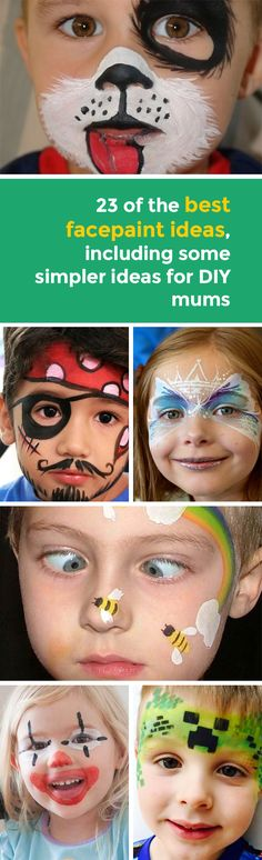 Face painting is hugely popular among children and is a great addition to any birthday party, whether you do it yourself or get an