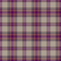 Information from The Scottish Register of Tartans #Fyvie #pink #tartan